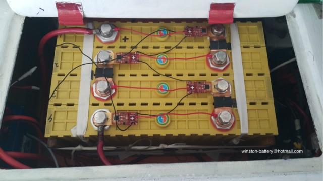 12V400AH Winston Battery Pack